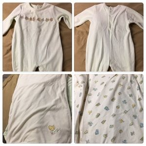 Children's place infant outfit and blanket
